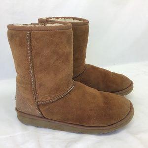 UGG Shoes - Ugg Australia Women's Chestnut Boots Leather 6